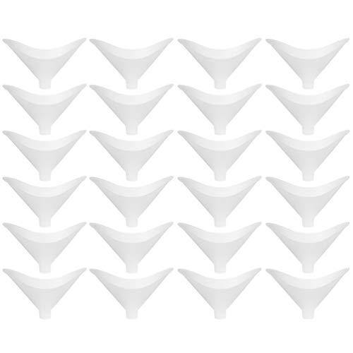 VILLCASE 200 Piezas de Boquilla de Espirómetro Desechable para El Ejercicio de Los Glúteos Neumatómetro para La Boca Herramientas de Prueba de La Función Respiratoria Accesorios 8. 1Mm