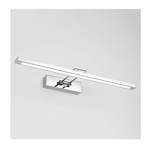 William 337 Badkamerverlichting, spiegel voorlicht: elegante badkuip van roestvrij staal, minimalistisch led-wandlamp, badkamerspiegel, make-uplamp, slaapkamer, licht, klasse en