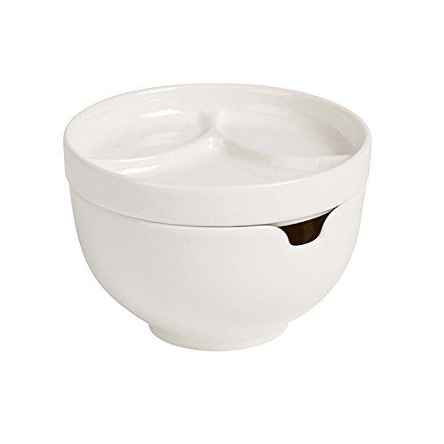 Villeroy & Boch Soup Passion Kleine Suppenschale, Mit Deckel, Premium Porzellan, Weiß