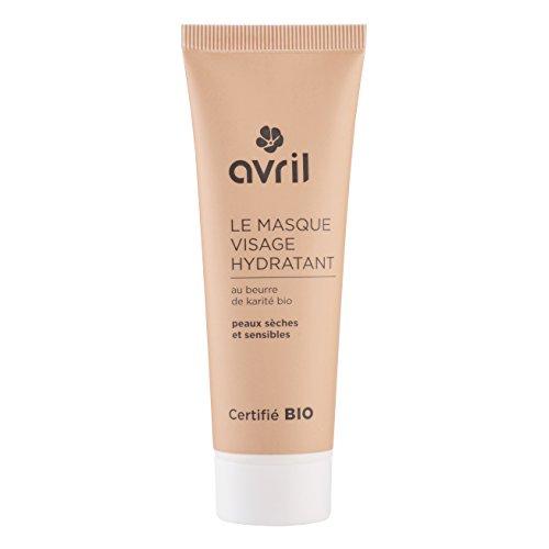 Avril Masque Hydratant pour Visage Certifié Bio 50 ml