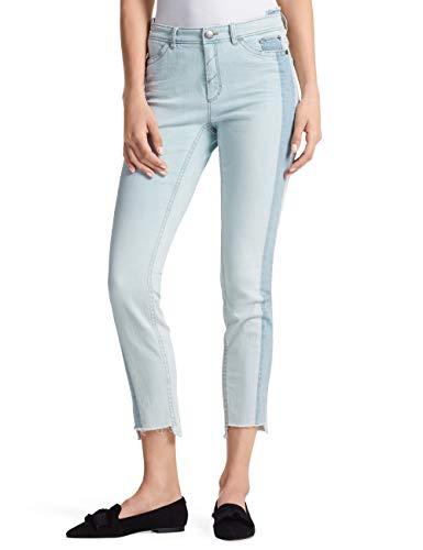 Marc Cain Sports Skinny Jeans (enganliegendes Bein), Donna, Mehrfarbig (Light Denim 350), 32W x 32L