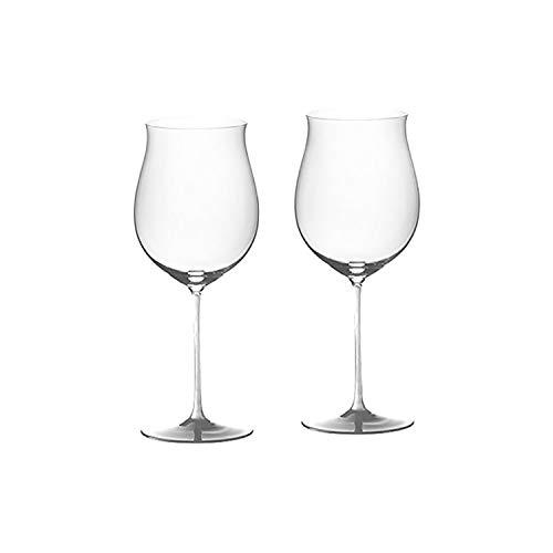 Riedel Sommeliers Crystal Burgundy Grand Cru Wine Glass, Set of 2