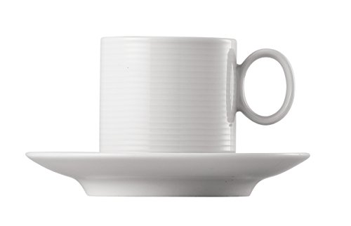 Thomas' Loft - 6 x Espressotasse stapelbar 2.-TLG, 0.11 l, Weiß
