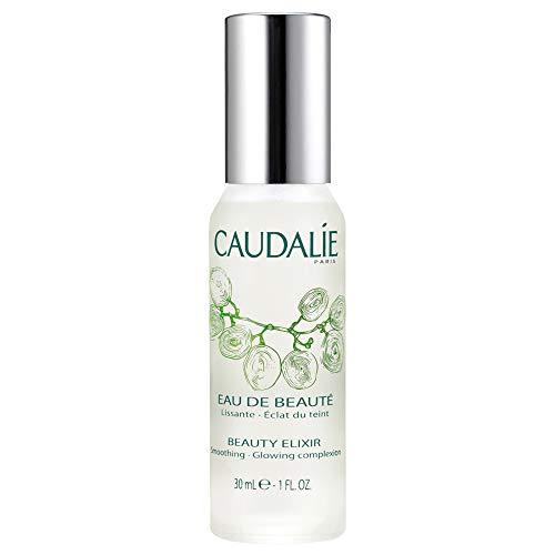 Caudalie Beauty Elixir Face Mist: Toner That Tightens Pores + Reduces Dullness + Sets Makeup - Travel Size 1 Ounce