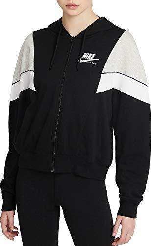 Nike felpa sportswear con cappuccio da donna - xs