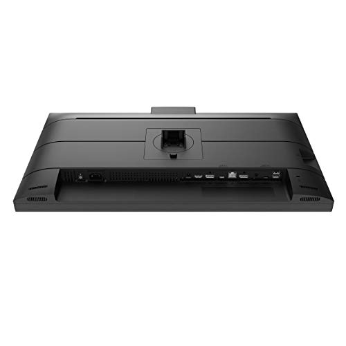 Philips 276B1JH - 27 Zoll QHD USB-C Docking Monitor, Webcam, höhenverstellbar (2560x1440, 75 Hz, HDMI, DisplayPort, USB-C, RJ45, USB Hub) schwarz