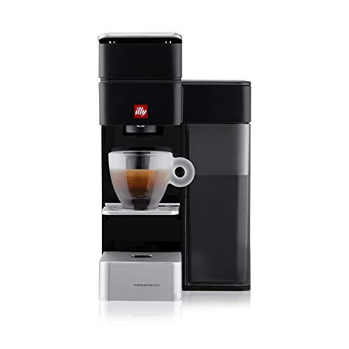 illy FrancisFrancis! Y5  Iperespresso Kapselmaschine Espresso+Coffee, schwarz