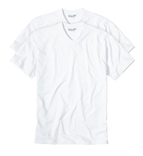 Götzburg Herren 741275-8709 T-Shirt, Weiß (Weiss 1), Large (Herstellergröße: L/52) (2er Pack)