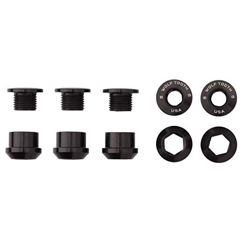 Wolf Tooth Components Chainring Bolts - Set of 4 by Wolftoot