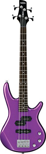 Best Pick: Ibanez 4-String Bass Guitar, Right Handed, Metallic Purple (GSRM20MPL)