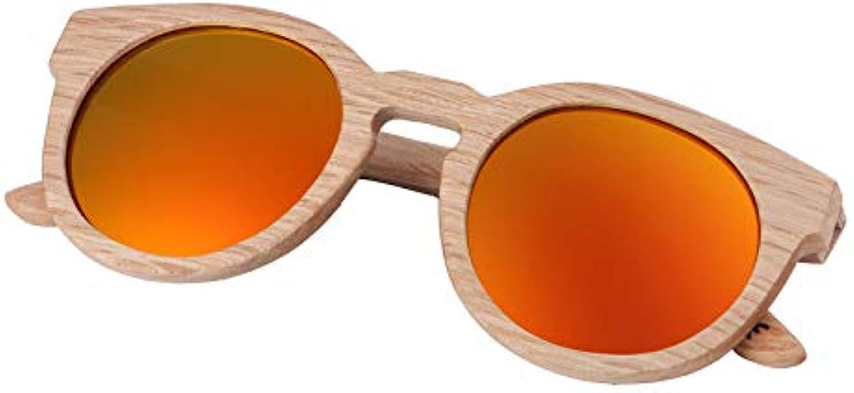 DABAOYA 2019 Sunglasses Wood Bamboo Sunglasses Women Fashion Mirror Sunglasses Women Glasses
