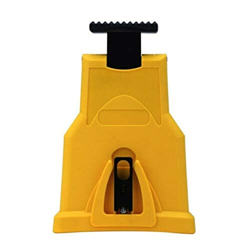 Xucus Professional Chainsaw Teeth Sharpener Woodworking Sharpening Tool Electric Chainsaw Power Tool Accessories - (Ships From: Australia, Color: Yellow)