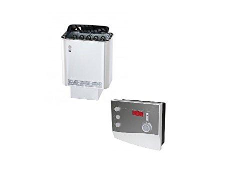 Preisvergleich Produktbild Saunaofen Sawotec NORDEX Next 4, 5 KW mit Saunasteuerung K2