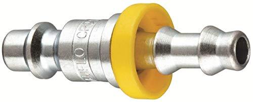 """Amflo CP21-42L Plug, 1/4"""" I/M Design Lock-On, 1/4"""" ID, Steel"""
