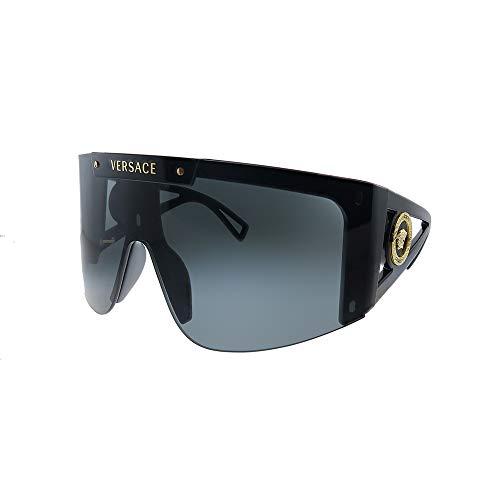 Occhiali da Sole Versace MEDUSA ICON VE 4393 Black/Grey Pink Shaded Lens 46/14/120 donna