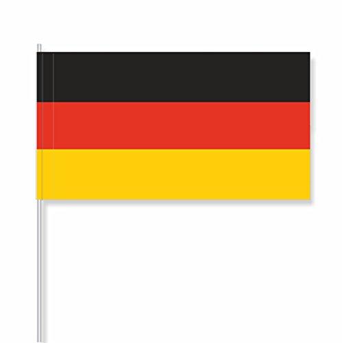 """antrada Papierfähnchen """"Deutschland"""" (50 Stück)"""