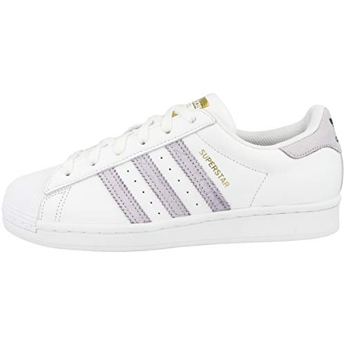 adidas Low Supestar - Zapatillas deportivas para mujer, color Blanco, talla 44 EU