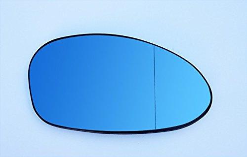 Spiegelglas Rechts Beifahrerseite Beheizbar Asphärisch Blau