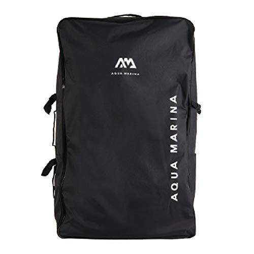 Aqua Marina Reißverschluss-Rucksack für Kajak TOMAHAWK AIR-K 375 / AIR-K 440 / AIR-C und Zubehör Schwarz 100x60×26 cm