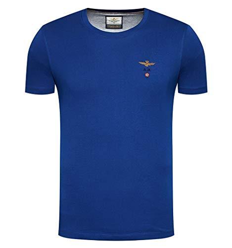 Aeronautica Militare Camiseta 1580 - Color - Azul, Talla - L