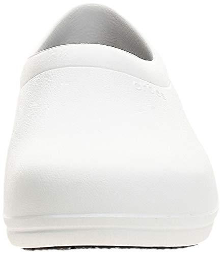 [クロックス]スニーカーオンザクロックワークスリップオンホワイト22.0cm2.5E
