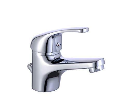 Eisl Waschtischarmatur Dolce Vita, Einhebelmischer mit Exzentergarnitur, Chrom, NI075CR