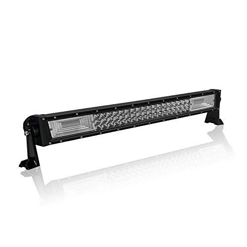 HENGMEI 270W LED Arbeitsscheinwerfer Bar Combo Reflektor Scheinwerfer Arbeitslicht – Triple Reihe LED Zusatzscheinwerfer Light Bar Leuchtbalken für Offroad Agrar Traktor (270W)