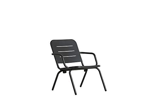 Monbea Detroit Stackable Chair Aluminium High Quality Garden Chair with Textile Cover