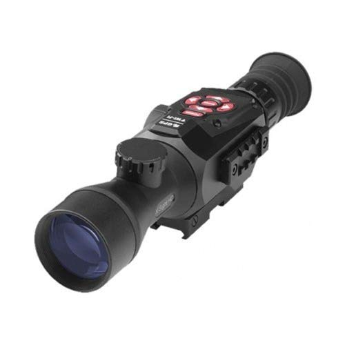ATN X-Sight II HD 3-14 Smart Day/Night Rifle Scope w/1080p Video, Ballistic Calculator, Rangefinder,...