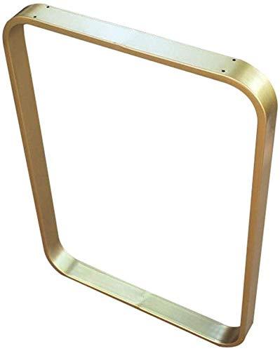 AZWE Platz Tischbein für Diy Möbel, Bar Tisch, Computer-Schreibtisch, Metallhaltig Beine, Höhenverstellbar, Tresor Runde Ecke, Gold, Schwarz, 1 Stück,Gold,70 * 70cm