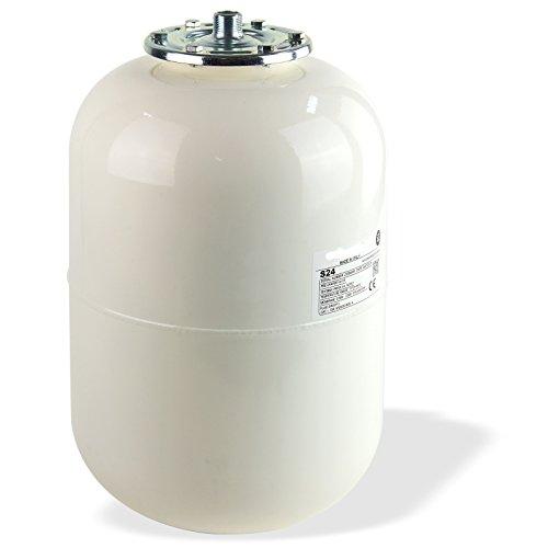 Stabilo-Sanitaer Solar Ausdehnungsgefäß 12L 12 Liter Ausgleichsbehälter weiss Druckausdehnungsgefäß Solaranlage Ausdehnbehälter