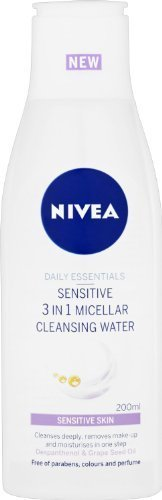 Nivea Sensitive 3 in 1 Agua Micelar - 200 ml