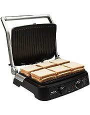Tefal Gc470 Grill Gourmet Minute 2000 Watt Paslanmaz Çelik Tost Makinesi - 9100029276, Gri