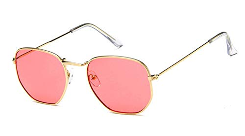 Gafas de Sol Sunglasses Nuevas Gafas De Sol para Mujer, Diseño Retro, Colorido, Transparente, Colorido, A La Moda, Gafas De Sol para Hombre, Uv400 C11Anti-UV