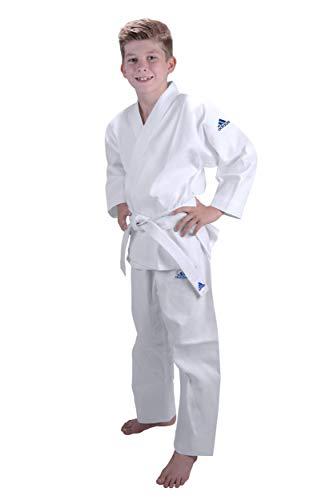 AdidasJ181 –Kimono de judo de iniciación para niño, judo, color blanco, tamaño 150