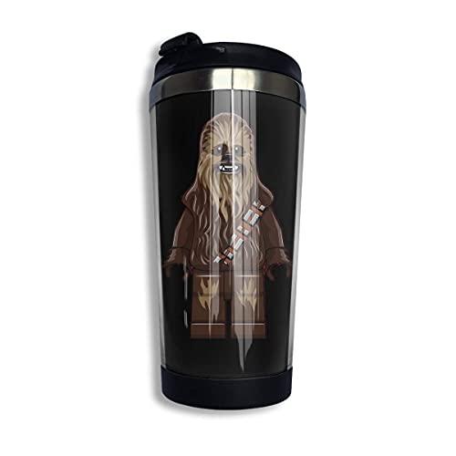 Taza de viaje Taza de café de acero inoxidable Chewbacca