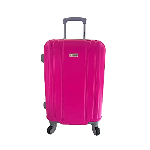 PHARD Trolley donna vari colori mis. 55x23x36, rosa