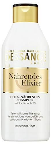 Dessange haarverzorging voedende elixer shampoo, diep voedend, 250 ml