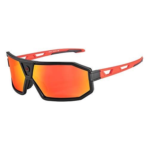 ROCKBROS Gafas de Sol Polarizadas/Fotocromáticas Deportivas Protección UV400 para Hombres Mujeres, para Bicicleta Running Pesca Golf