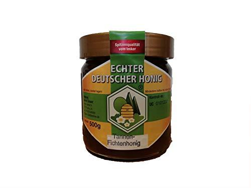 Echter Deutscher Honig, 500gr, Tannenhonig / Fichtenhonig aus dem Schwarzwald