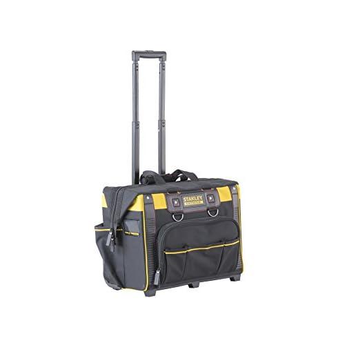 STANLEY FATMAX FMST1-80148 Borsa porta utensili con ruote FatMax, 50 x 36x 41cm