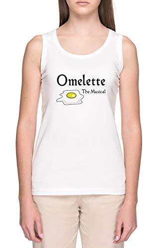 Omelette The Musical! (Something Rotten) Damen Weiß Bauchfreies T-Shirt Women's White Tank T-Shirt