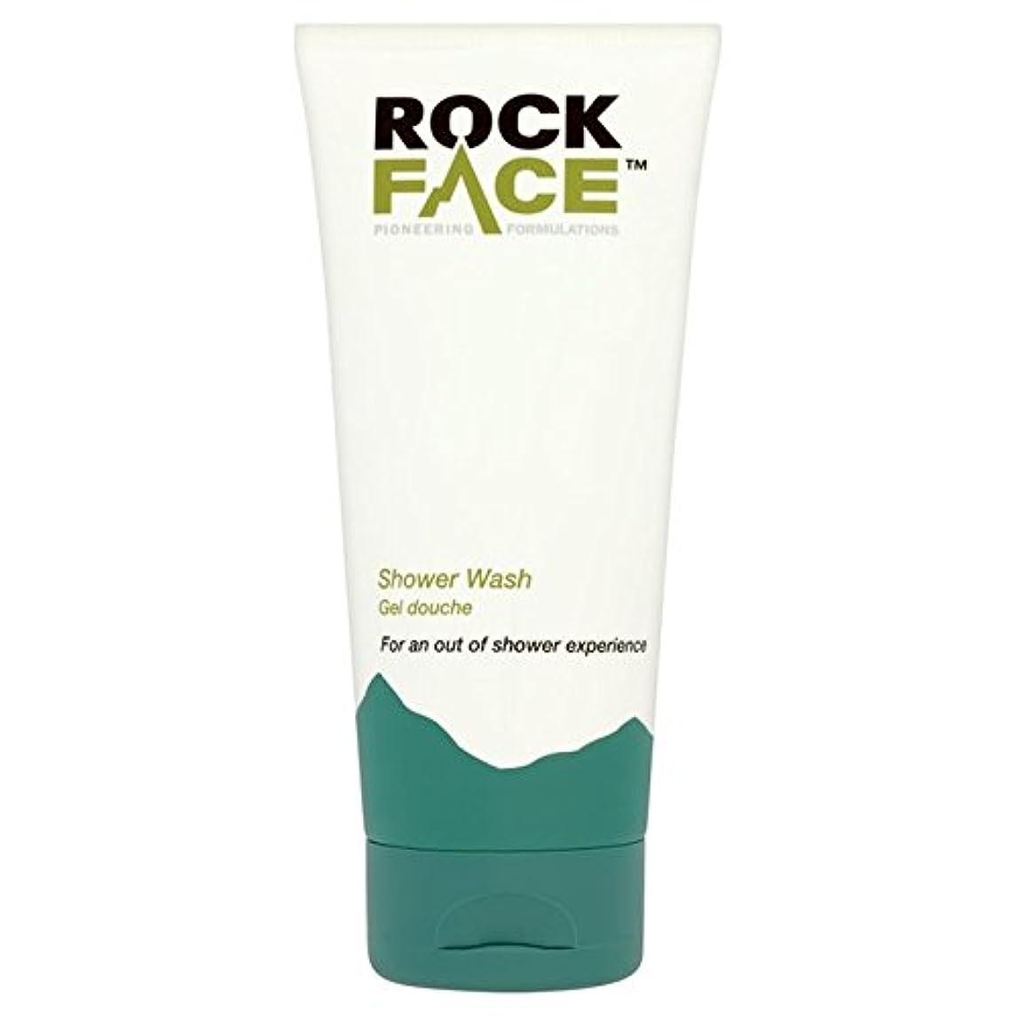 祝福する出します結核Rock Face Shower Wash 200ml (Pack of 6) - 岩壁シャワーウォッシュ200ミリリットル x6 [並行輸入品]