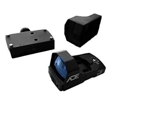 Ade Advanced Optics RD3-006B Green Dot Micro Mini Reflex Sight for Handgun with Removeable Pictinny Base