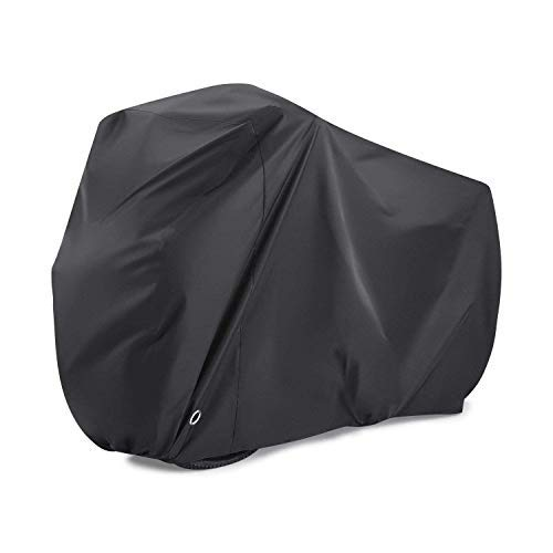 Allnice Bicycle Bike Cover, 190T Nylon Waterproof Bicycle Rain Cover with Lockable,Waterproof Bag for Mountain Road Bike Anti Dust Rain UV Protection PU Coating Nano Material (Under 29 inch Bike)