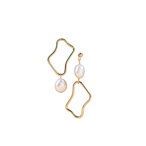 MAYL French vintage natural baroque pearl earrings (2021 New)