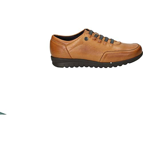 Zapatos pitillos 2985 señora Marron