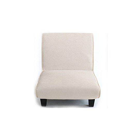 Chaises longues-Tissu créatif Unique Petit canapé à la Mode Fenêtre Flottante Balcon Chambre Canapé Paresseux -Applicable à l'intérieur et à l'extérieur (Couleur : Beige)