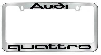 quattro license plate frame - 2