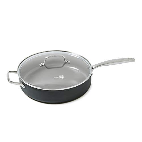 GreenPan 5QT Ceramic Non-Stick Covered Saute Pan